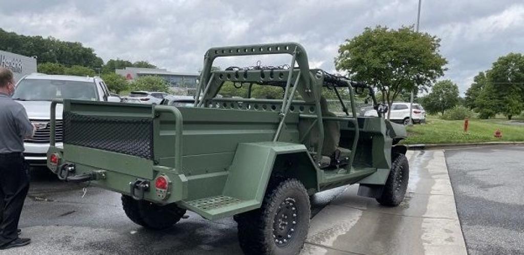 جنرال موتورز تعلن الكشف عن سيارة عسكرية كهربائية