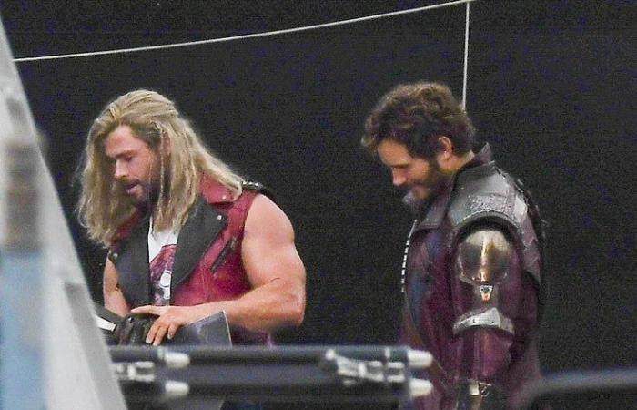 صور جديدة من كواليس فيلم Thor: Love and Thunder بمدينة سيدني الأسترالية