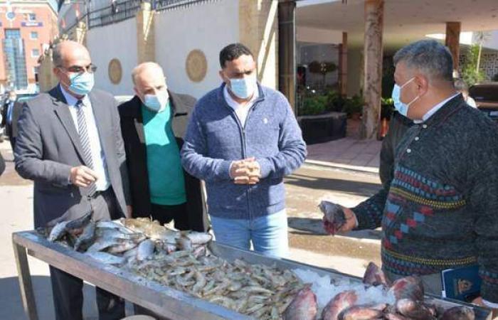 فتح منافذ لبيع الأسماك بأسعار مُدعمة بالدقهلية |صور