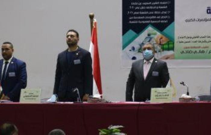 شعبة مدنى بنقابة المهندسين تجرى زيارات للمشروعات القومية لدعم العاملين