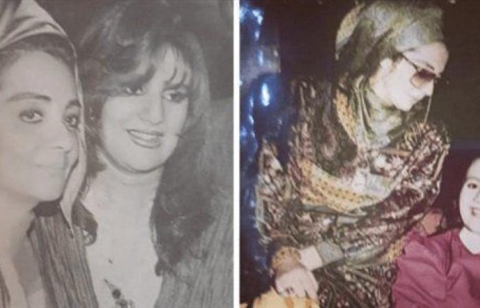 حبيبتي الغالية.. رانيا محمود ياسين تهنئ والدتها بـ عيد ميلادها