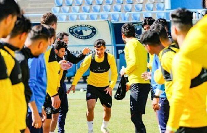 صفقة بيراميدز الجديدة يشارك في أول تدريب استعدادا لمواجهة فريقه السابق