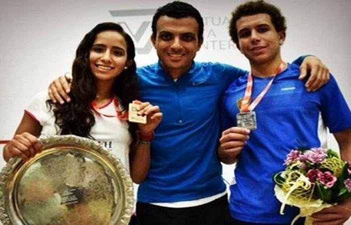 مجمع زد الرياضى يدعم رياضة الإسكواش بمصر
