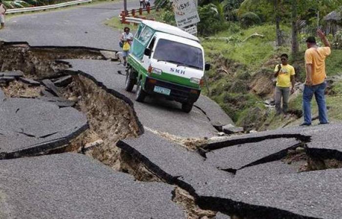 زلزال بقوة 5.9 درجة يضرب جزيرة جويانا في المحيط الأطلنطي