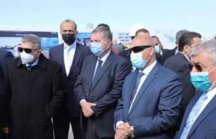 وزيرا النقل وقطاع الأعمال ورئيس قناة السويس يتفقدون تنفيذ محطة متعددة الأغراض بالإسكندرية
