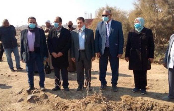 لجنة من جامعة حلوان لحل مشكلات شارع حفني بعرب غنيم