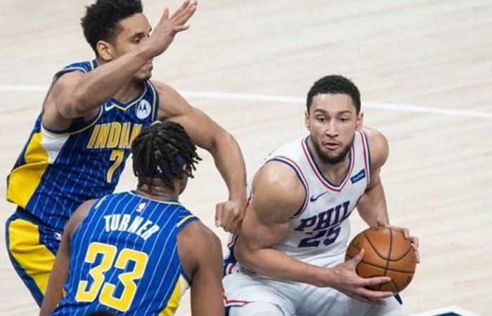 سيكسرز يواصل انتصاراته في دوري كرة السلة الأمريكي على حساب بيسرز
