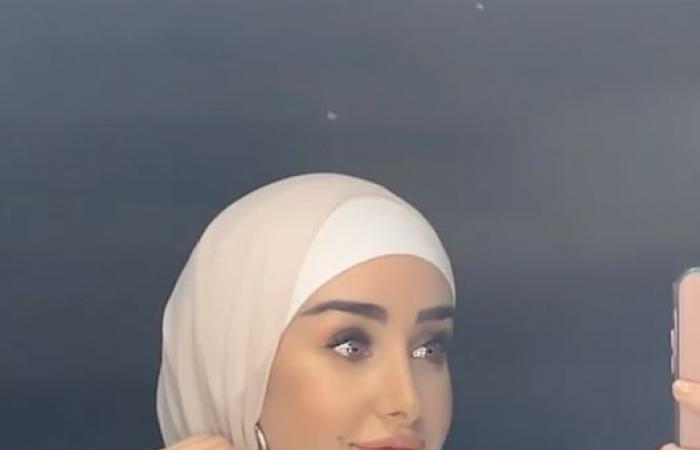 """هنا الزاهد بـ""""الحجاب"""" فى كواليس تصوير مسلسلها الجديد """"حلوة الدنيا سكر"""".. فيديو"""