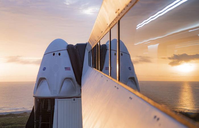 سبيس إكس تعلن عن أول مهمة مدنية بالكامل إلى الفضاء