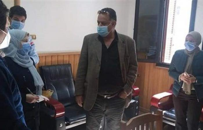 الأطقم الطبية بجامعة المنصورة تبدأ بتلقى لقاح كورونا