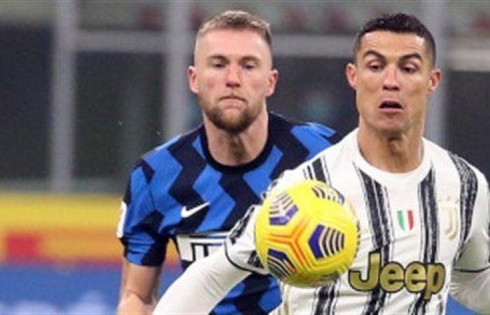 يوفنتوس يتقدم على إنتر 2-1 في كأس إيطاليا