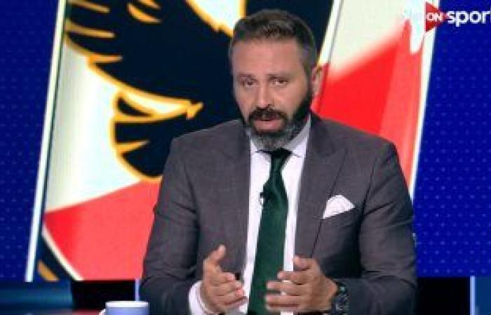 """حازم إمام :""""مش قلقان على الزمالك بعد الهزيمة من المحلة"""""""