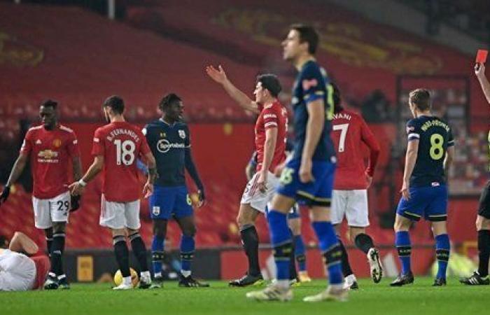 الشوط الأول.. مانشستر يونايتد يضرب ساوثهامبتون برباعية في الدوري الإنجليزي