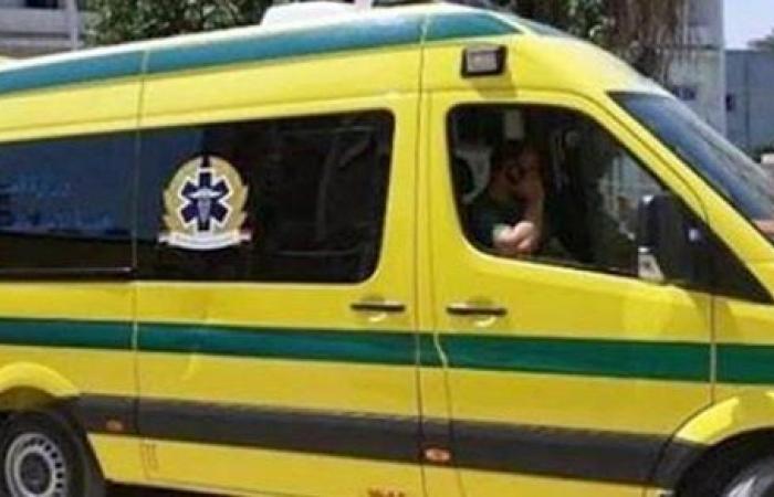 مصرع وإصابة 4 في حادث تصادم ببني سويف