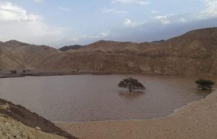 """شاهد دور """"منشآت الحماية"""" فى أول مواجهة لها مع السيول بجنوب سيناء"""