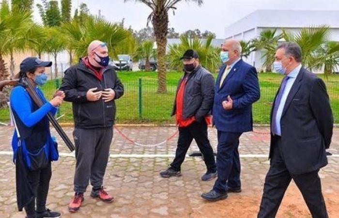 سفير مصر بالمغرب يزور بعثة منتخب الرماية
