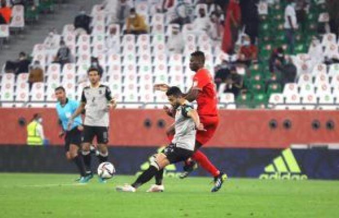 أيمن أشرف يفوز بجائزة رجل المباراة فى لقاء الأهلي والدحيل