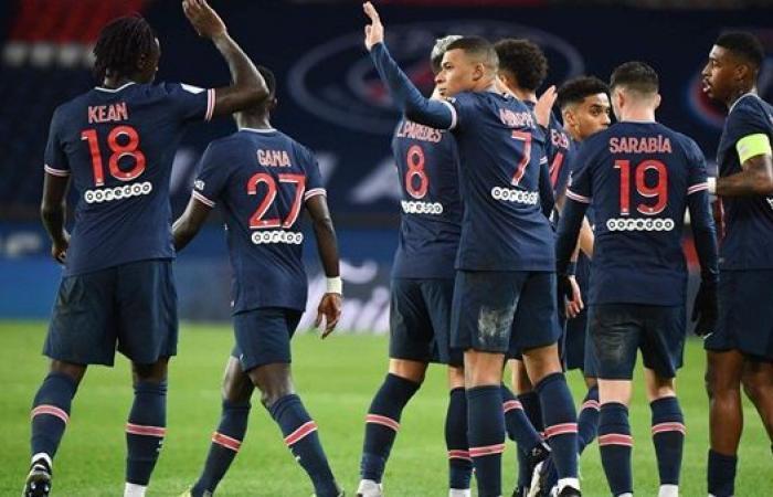 باريس سان جيرمان يسحق نيم في الدوري الفرنسي
