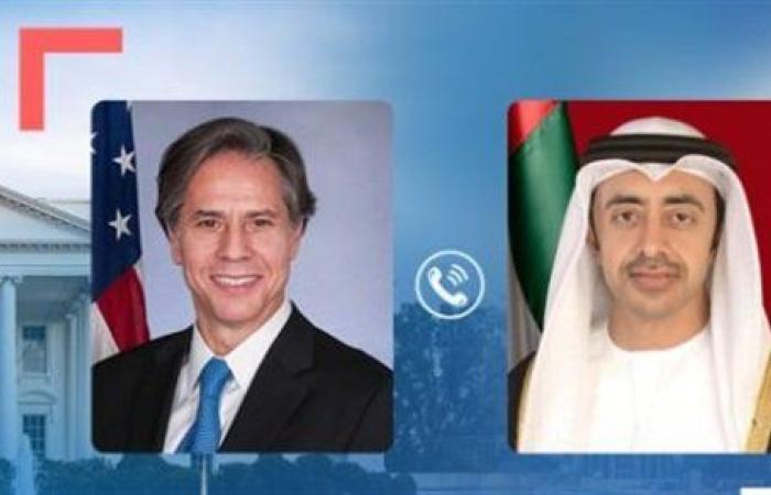 وزير الخارجية الأمريكي يجري اتصالا هاتفيا بنظيره الإماراتي.. تفاصيل