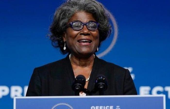 الكونجرس يوافق على مرشحة بايدن سفيرة لأمريكا بالأمم المتحدة