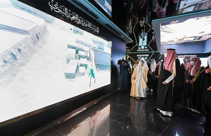 بالصور.. أمير المدينة يُدشن المعرض والمتحف الدولي للسيرة النبوية والحضارة الإسلامية