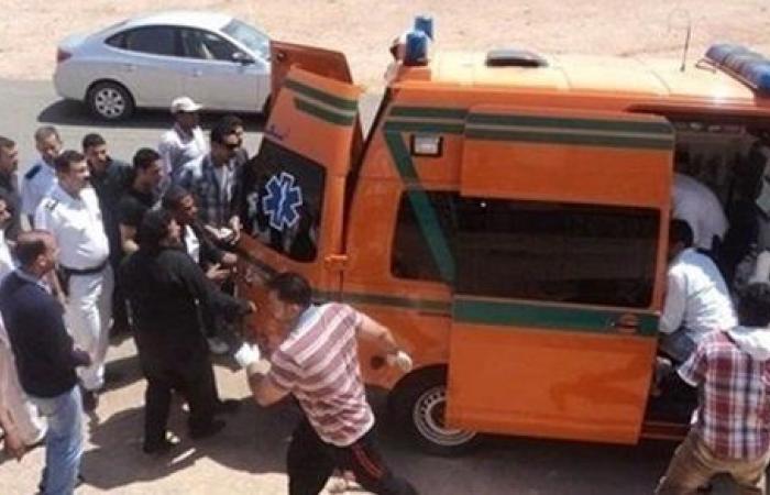 إصابة 4 أشخاص في حادث تصادم بالفيوم