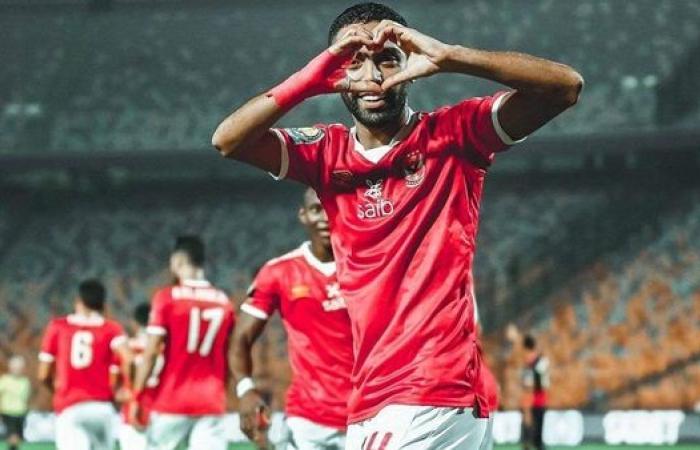 اتجاه في الأهلي لإبعاد حسين الشحات عن مباراة الدحيل