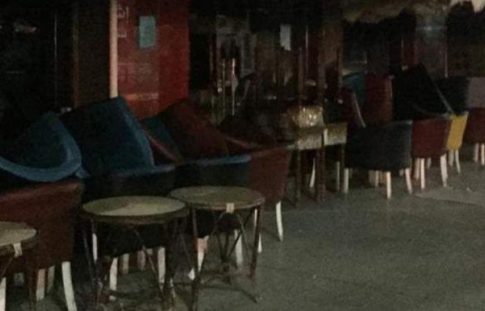 غلق مقاهي وكافيهات مطروح تزامنا مع مباراة الأهلي والدحيل | صور