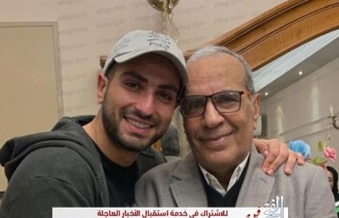 محمد الشرنوبي يوجه رسالة لواده بمناسبة عيد ميلاده.. صور