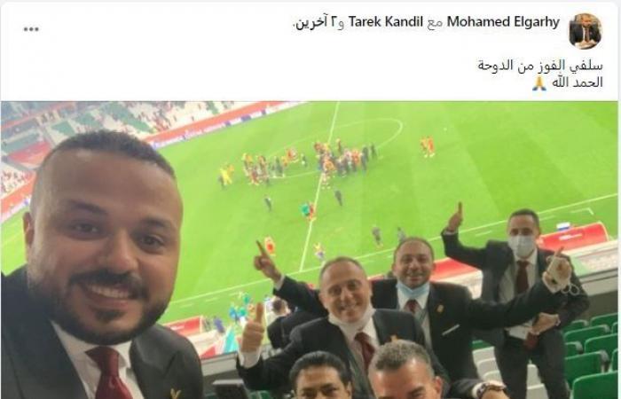 مجلس إدارة النادى الأهلى يحتفل بالتأهل لنصف نهائي كأس العالم للأندية.. صورة