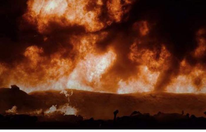 السيطرة على حريق نشب فى مخلفات بمطار إمبابة