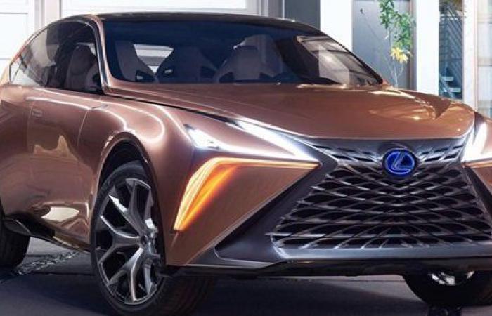 لكزس تطور LEXUS LF جديدة SUV عالية الأداء ..صور