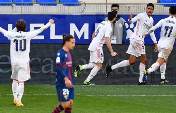 ريال مدريد يحقق فوزًا صعبًا على حساب هويسكا