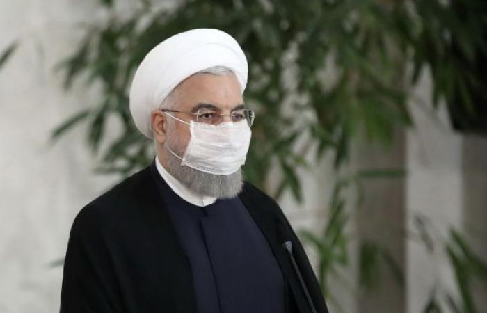 الرئيس الإيراني يعلن موعد بداية التطعيم ضد كورونا في بلاده