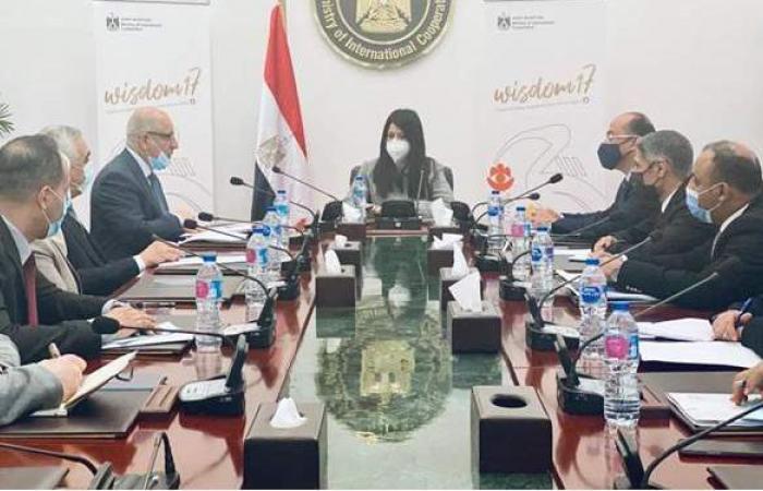 المشاط تلتقي وفدا عراقيا لعرض التجربة المصرية في التعاون الإنمائي من خلال الشراكات الدولية