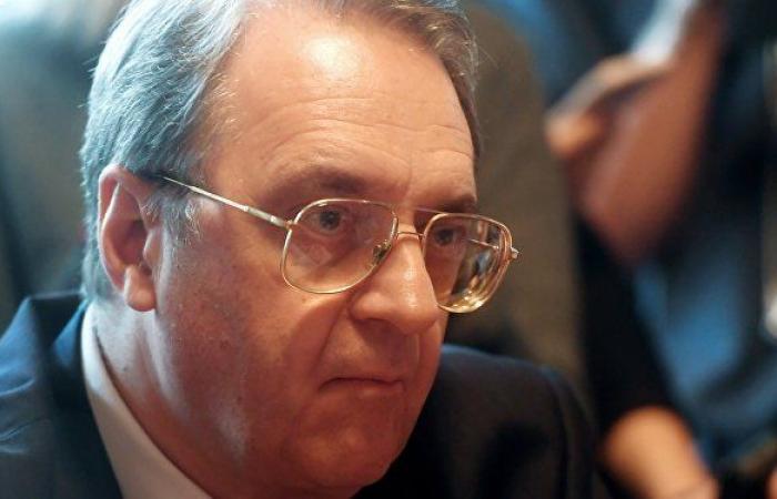 بوغدانوف يبحث الأزمة الليبية مع رئيس المجلس الرئاسي الجديد
