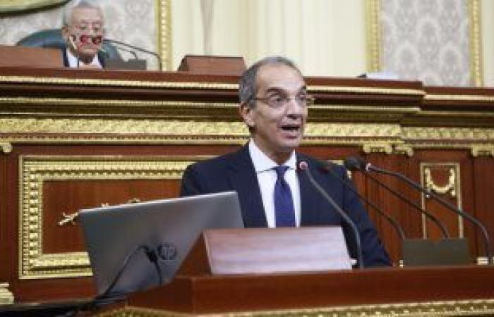 وزير الاتصالات: إطلاق 45 خدمة حكومية أونلاين بمنصة مصر الرقمية