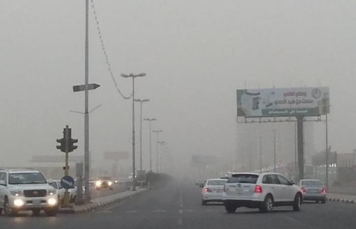 انخفاض الحرارة ونشاط للرياح شمال ووسط وشرق السعودية