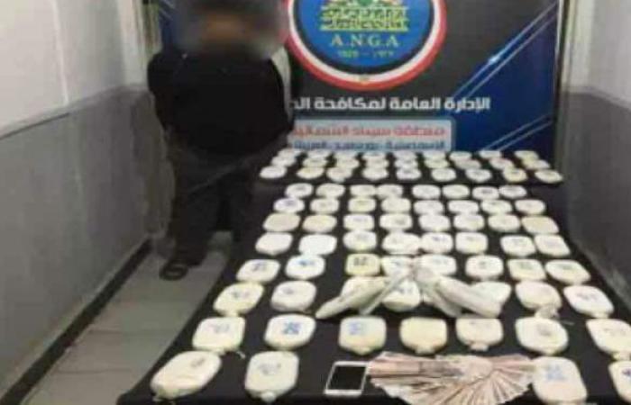 إحباط ترويج 140 طربة لمخدر الحشيش في الإسكندرية