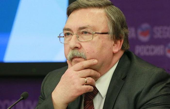 ممثل روسيا ينتقد الجدل الأمريكي الإيراني حول الخطوة الأولى للعودة إلى الاتفاق النووي