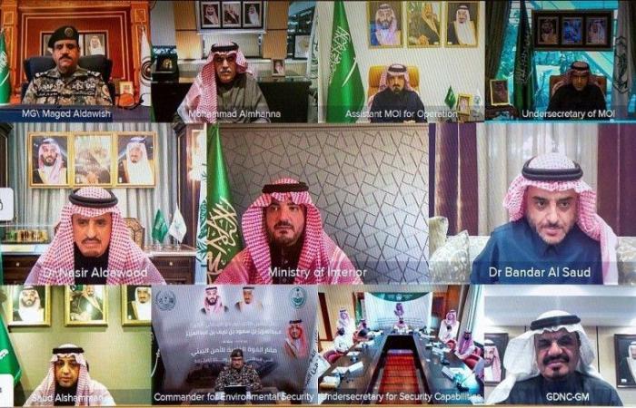 وزير الداخلية يدشن مقار أمنية جديدة في الرياض ومكة
