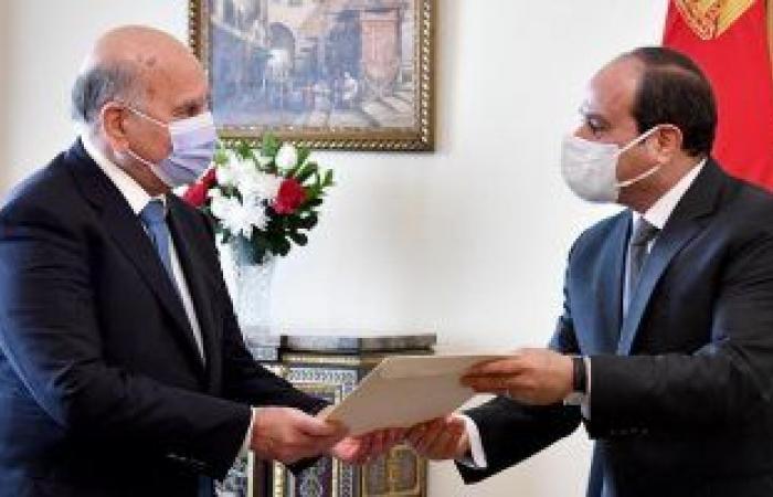 الخارجية العراقية: فؤاد حسين يسلم رسالة للرئيس السيسي من الرئيس العراقى