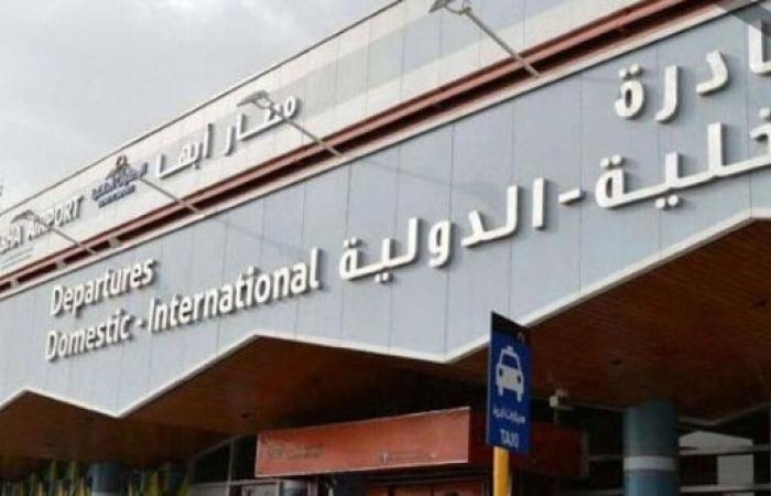 فيديو.. إخماد حريق مطار أبها بلا إصابات إثر الاعتداء الحوثي الجبان