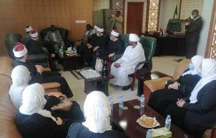 وزير الأوقاف السوداني يشيد بجهود قافلة الدعاة المصرية   صور