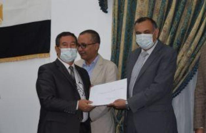 """مصنع إنتاج وإصلاح المدرعات """"200 الحربى"""" يحصل على الاعتماد عن أكواد (u&r) من منظمة Asme"""