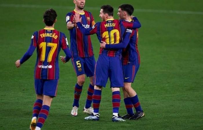موعد مباراة برشلونة ضد إشبيلية في نصف نهائي كأس ملك إسبانيا