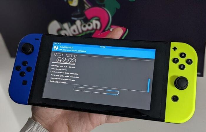 Android 10 يتوفر لبعض مستخدمي أجهزة Switch من Nintendo