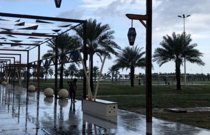 الأرصاد : أمطار رعدية على جازان حتى الـ8 مساء