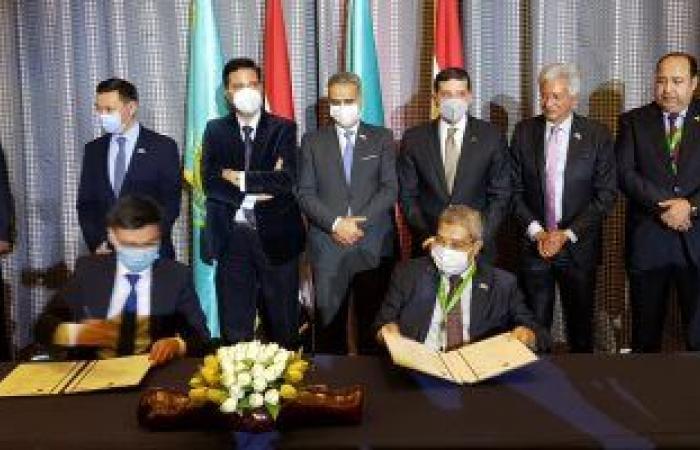 مجلس الأعمال المصرى الكازاخستانى ينهى جلساته باتفاقيات جديدة لتنمية العلاقات الاقتصادية