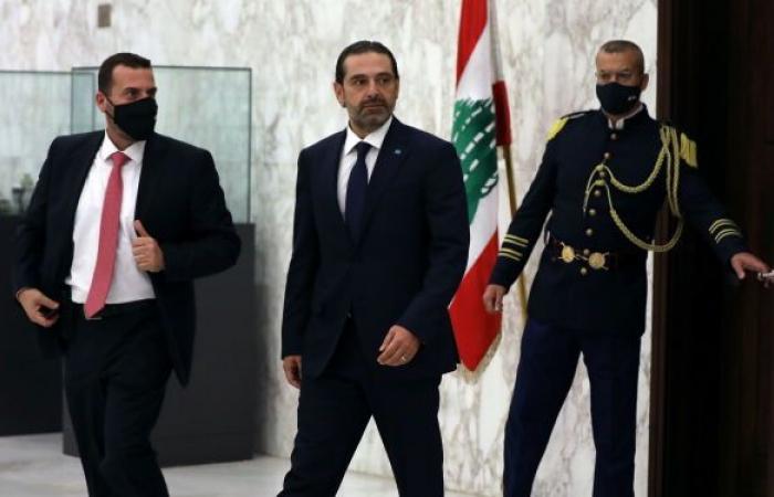 الحريري بعد لقائه عون: لاتقدم في تشكيل الحكومة